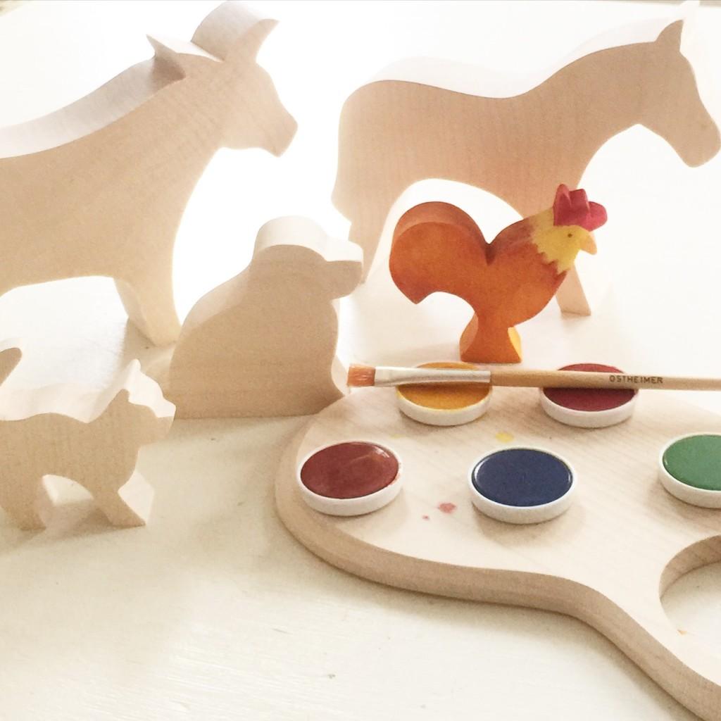 Tiere aus Holz