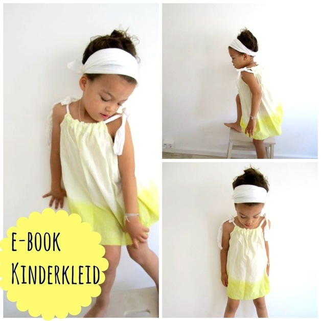 Schnittmuster Kinderkleid Milly - Mamablog & Shop by Elfenkind