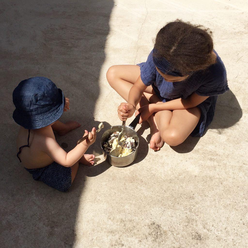 Kinder und Urlaubsarbeit
