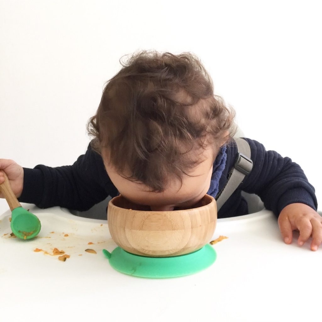 Baby led weaning Zucchini