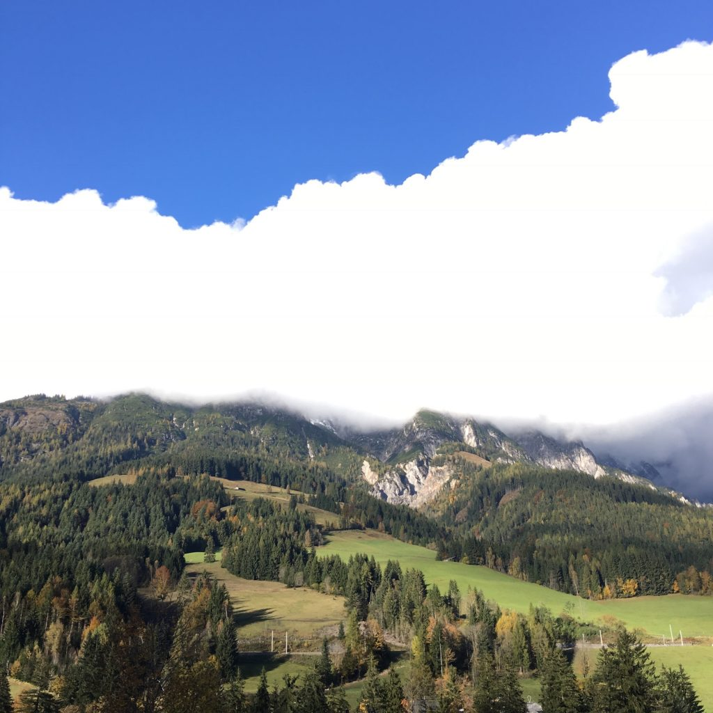 Berge in Leogang Naturhotel Forsthofgut