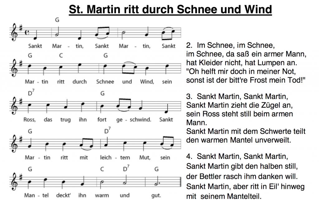 St. Martin Lied