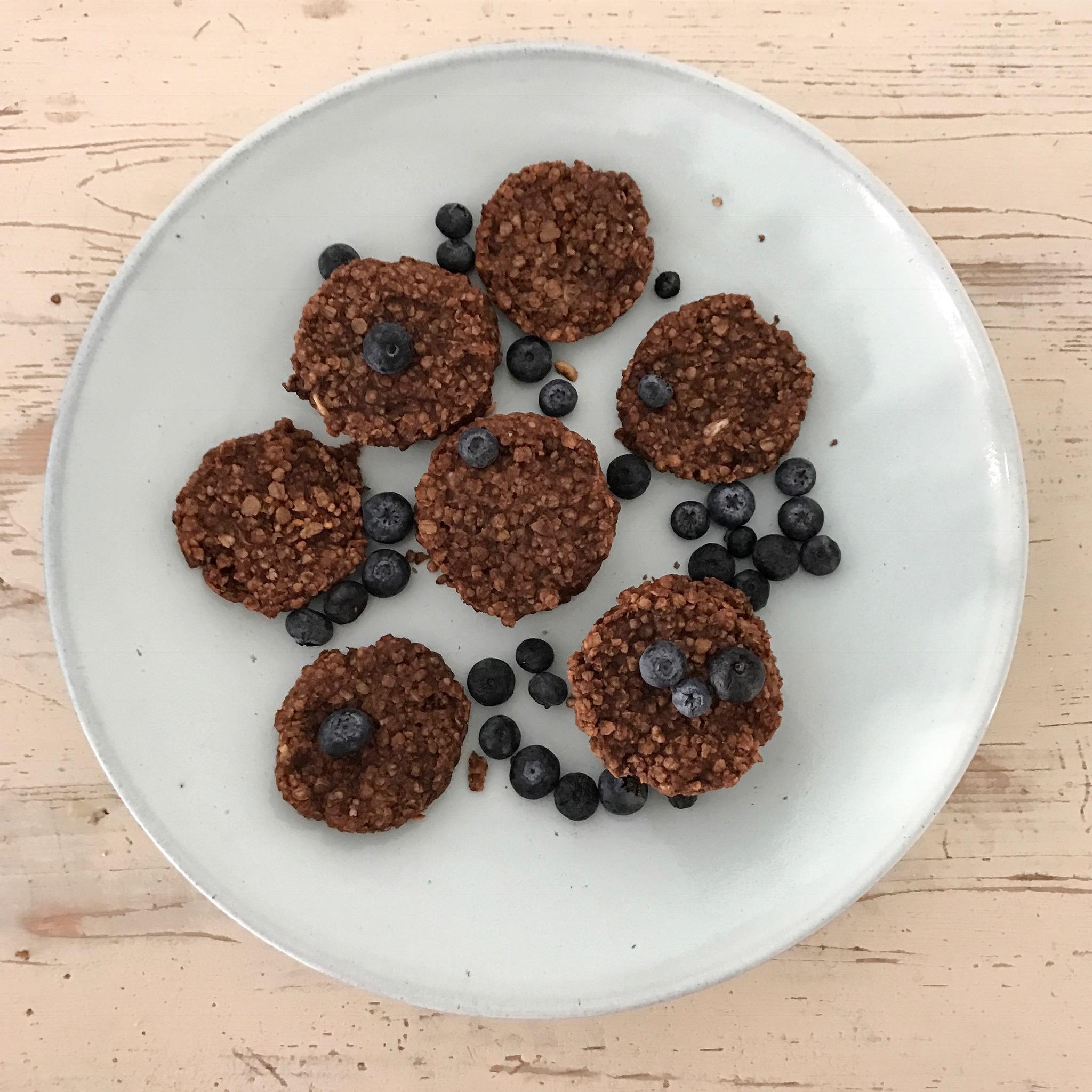 Granola Cookies Rezept ohne zucker