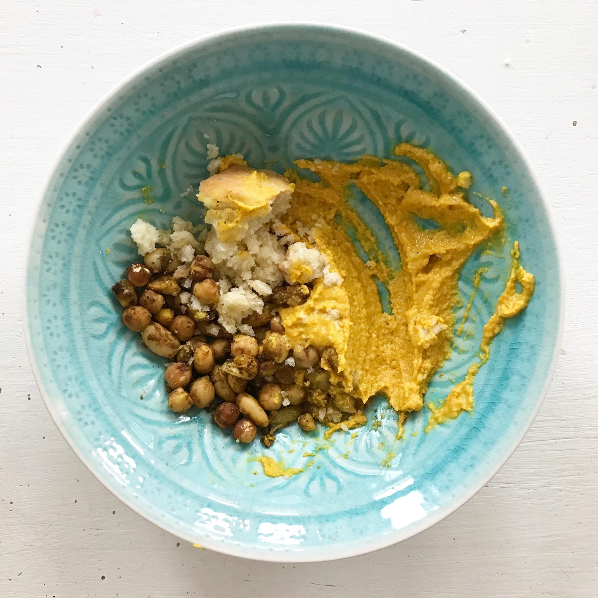 Hummus mit Kurkuma Rezept