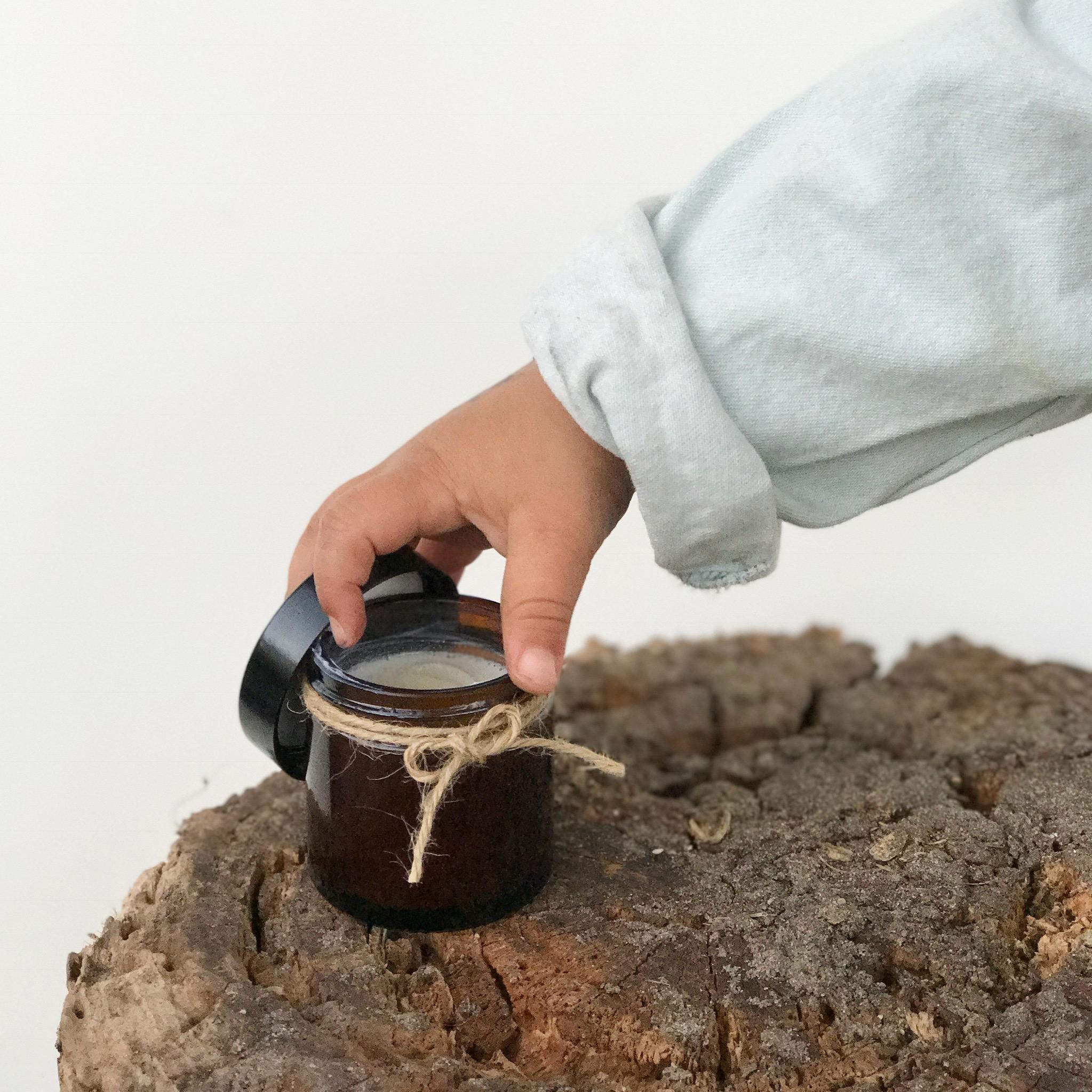 Mineralische Sonnencreme Rezept zum Selbermachen, das Rezept gibt es auf www.elfenkindberlin.de