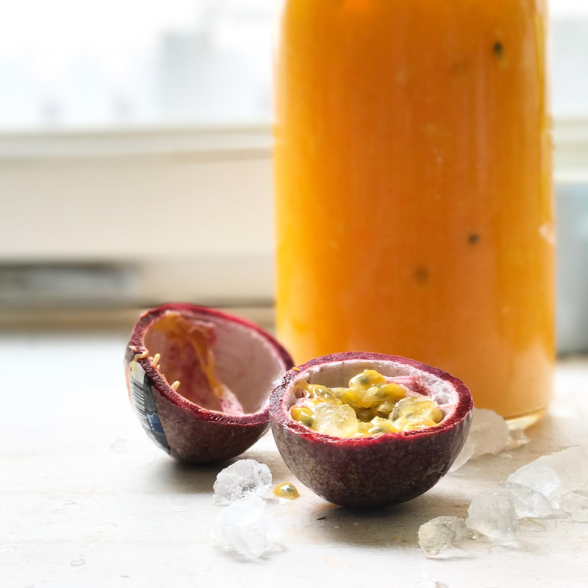 ein Rezept für eine fruchtige Sommerbrause gibt es auf www.elfenkindberlin.de