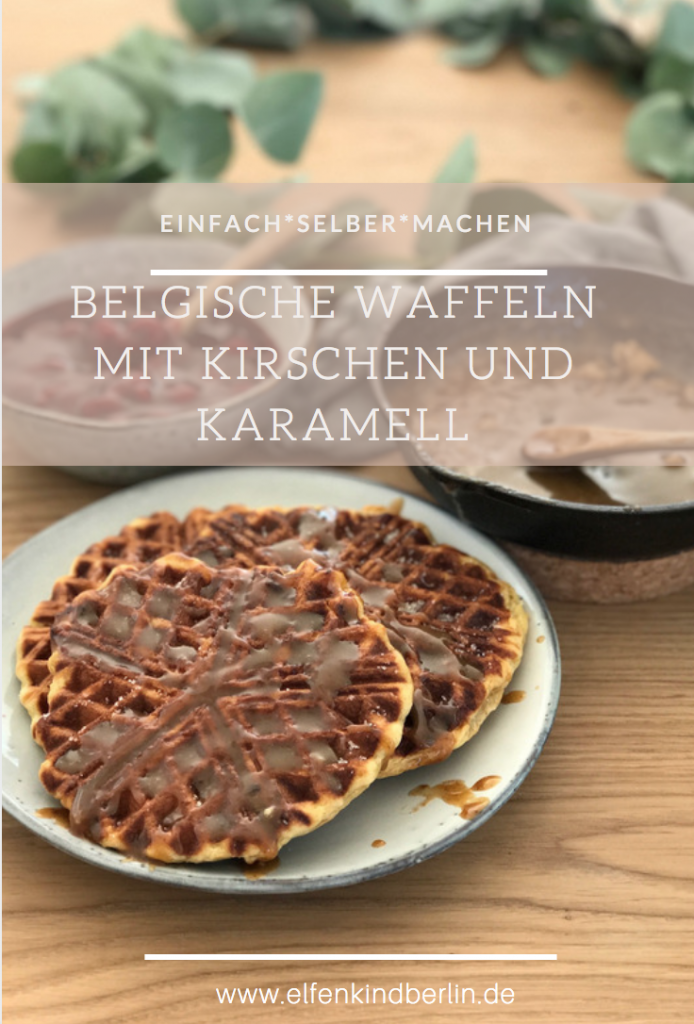 Rezept für Belgsiche Karamell Waffeln