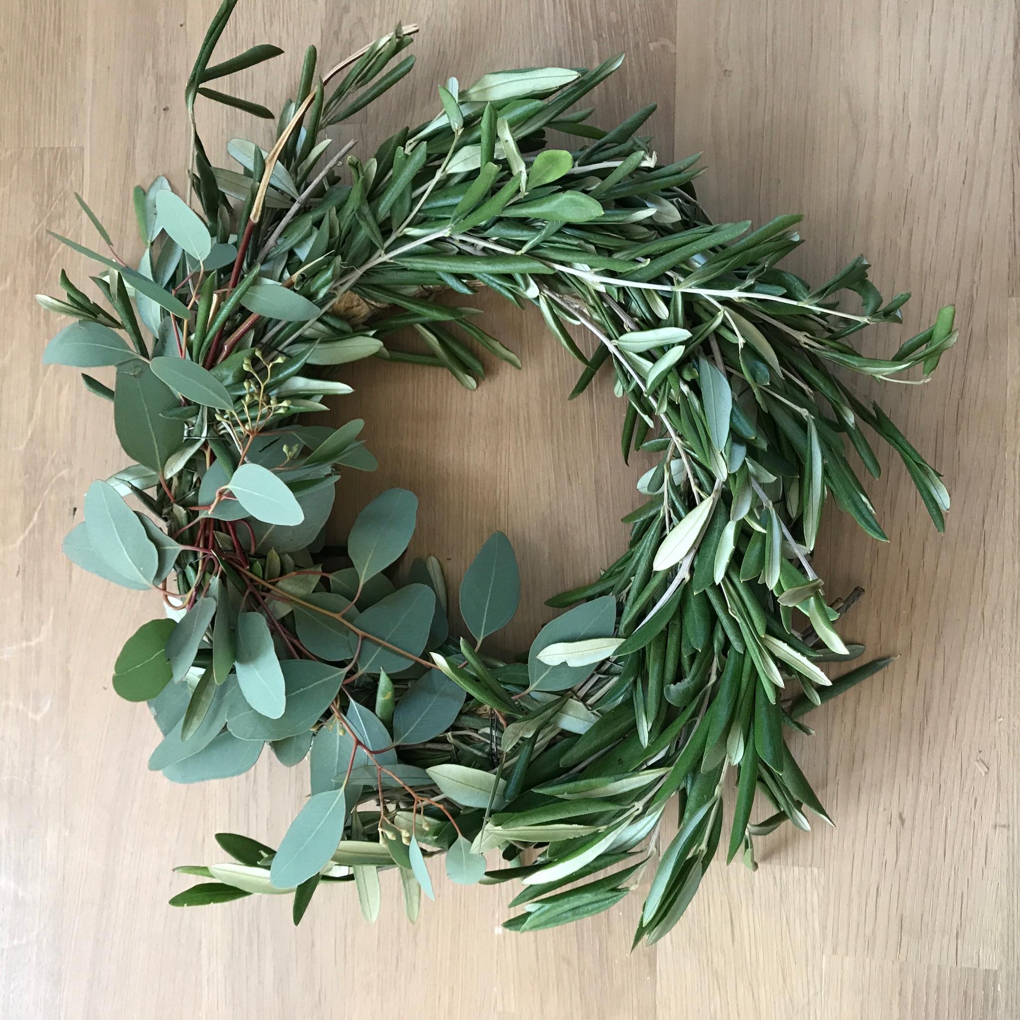 Oliven Eukalyptuskranz Binden Step By Step Mit Video Anleitung