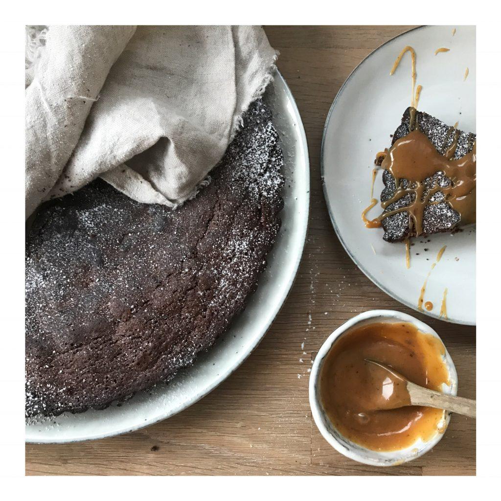 Leckeres Rezept für eine Schokoladentarte