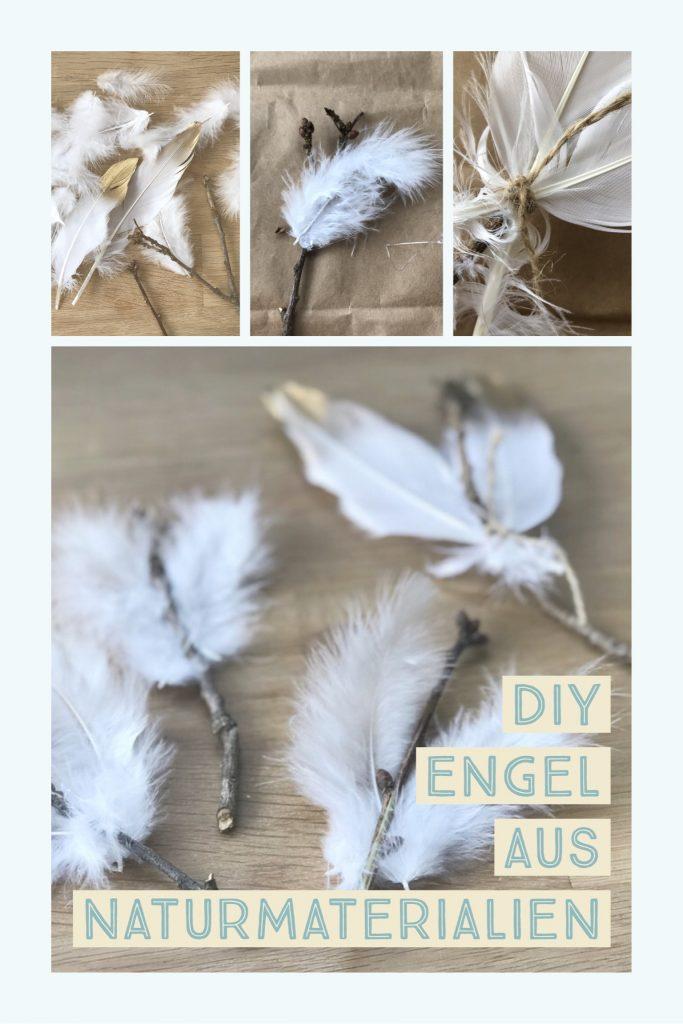 Basteln engel - Engel basteln aus naturmaterialien ...