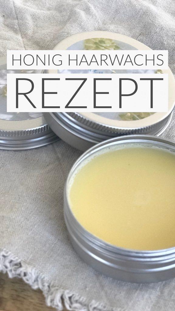 Wunderbares Haarwachs Rezept mit gutem Honig und schön duftenden Ätherischen Ölen machen eure morgendliche Haarroutine zum Genuss für all Eure Sinne! Probiert es mal aus! Ihr werdet es lieben, dieses und viele ander Rezepte findet ihr auf www.elfenkindberlin.de
