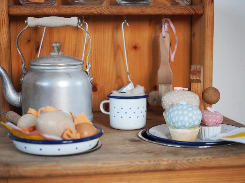 Filzpastafilzgemüse Und Lebensmittel Für Die Kinderküche Selbermachen