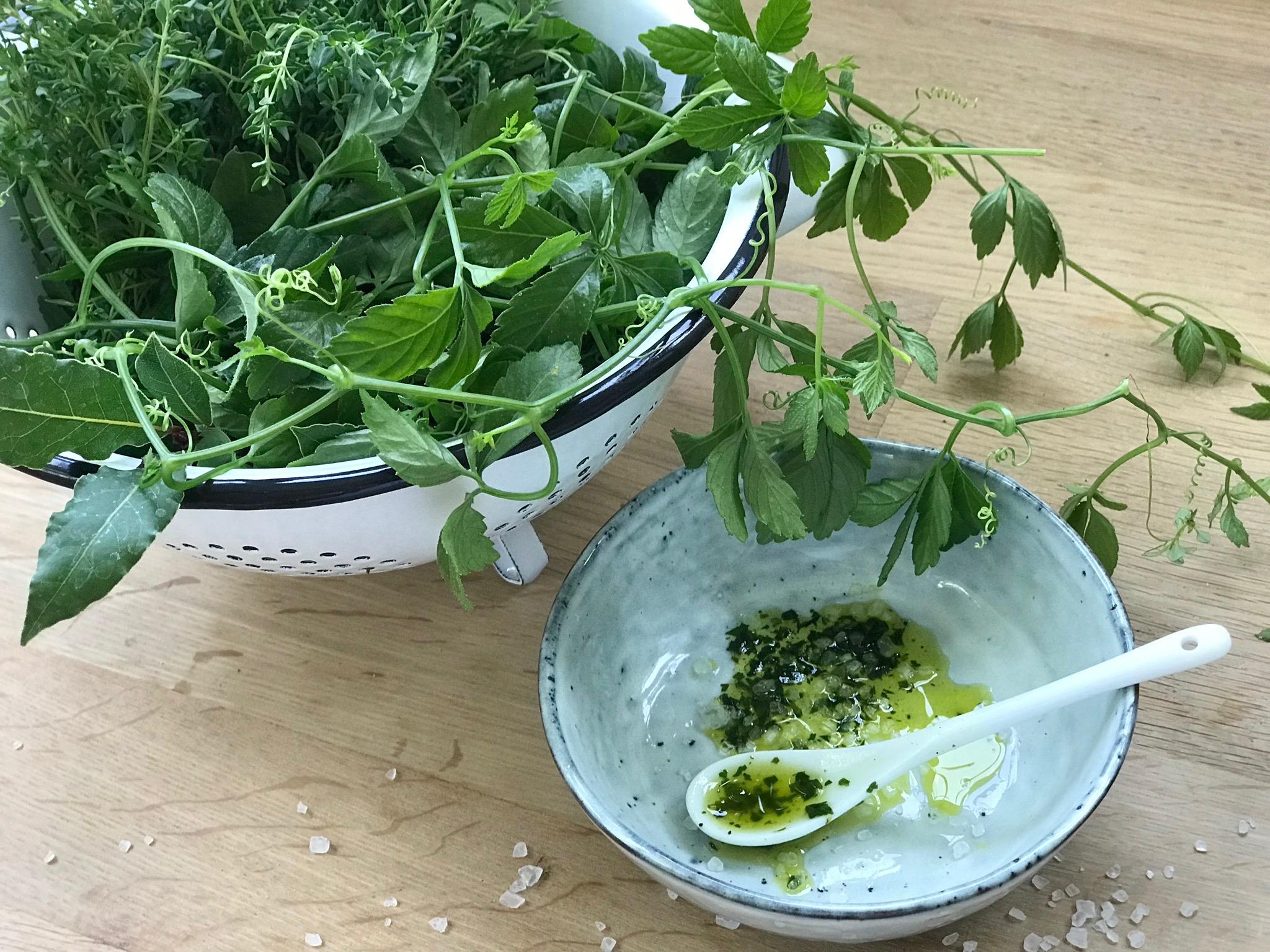 Sommerküche Für Kinder : Kräuteröl kräuterpaste rezept leckere sommerküchen rezepte