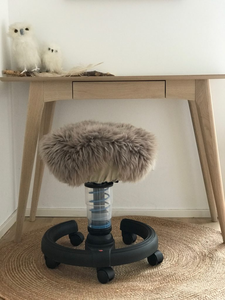 Gesunder Rücken mit dem richtigen Schreibtischstuhl der Swoppster ist genau das richtige für eine guten Schulstart ! Eine Anleitung für einen schönen Bezug gibt auch noch dazu !