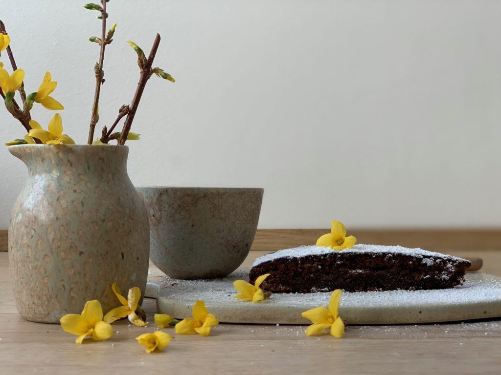 Schokoladen Mandelkuchen ein Rezept so zart schmelzend und Seelensüss.