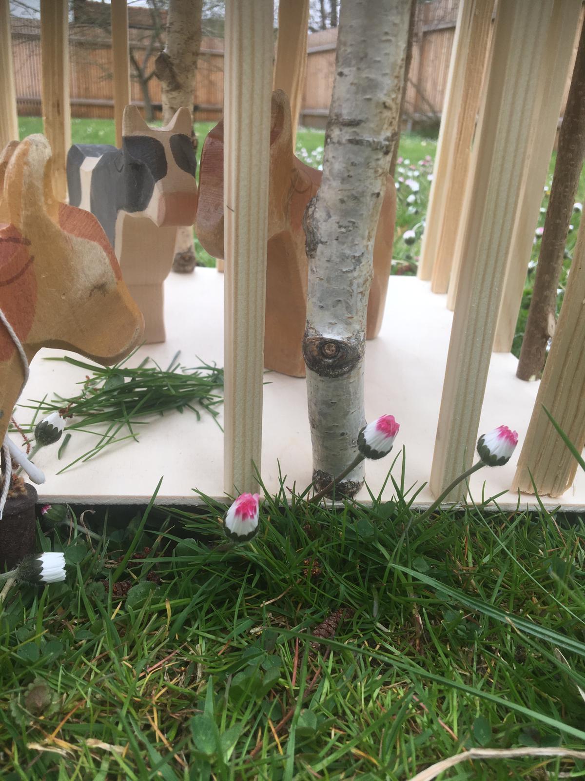 Holzspielzeug Selber Bauen Tierstall Aus Holz Für Kinder