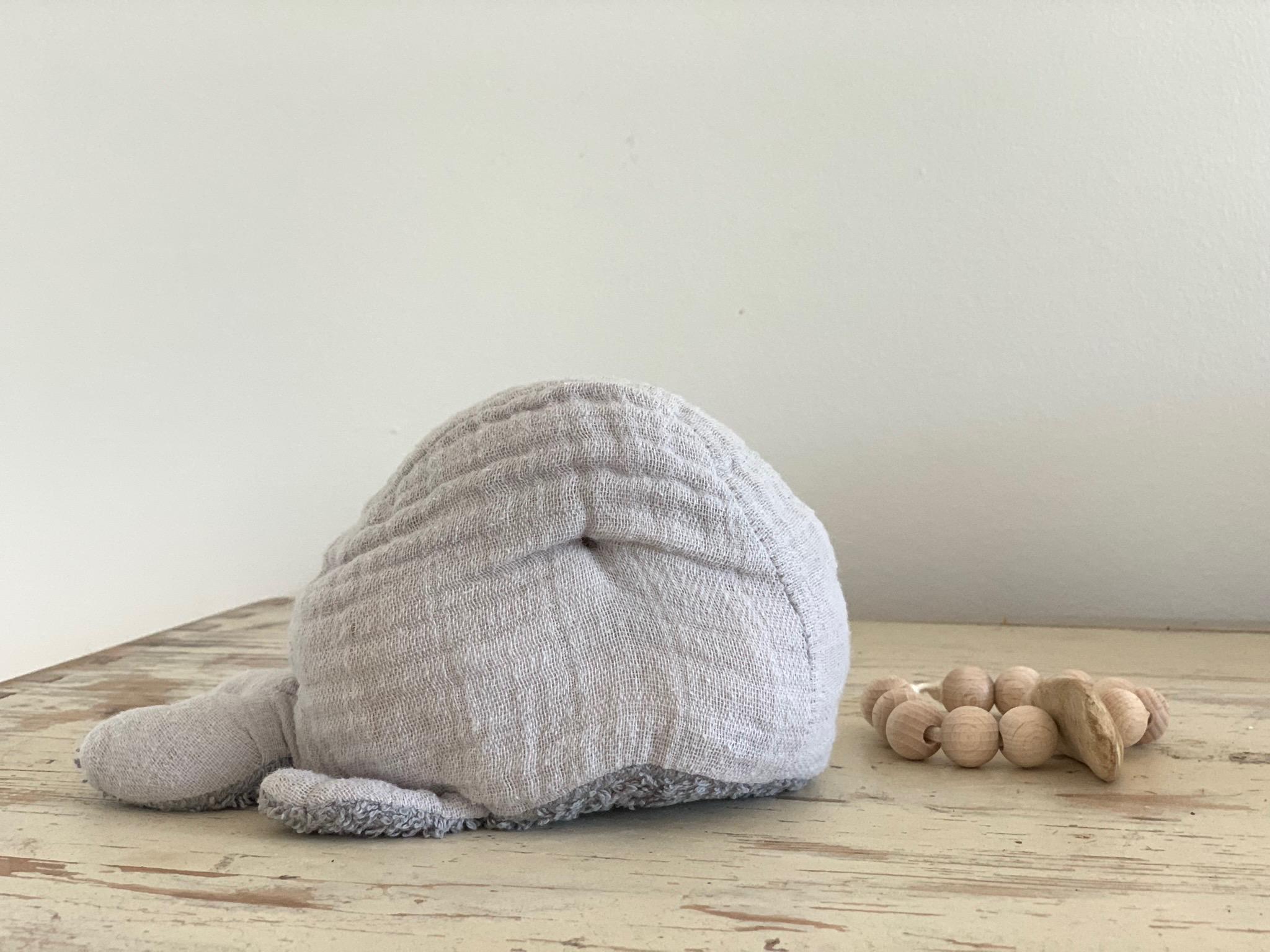 Anleitung Kleiner Wal zum Nähen als süßes kleines Geschenk für kleine Erdenbürger