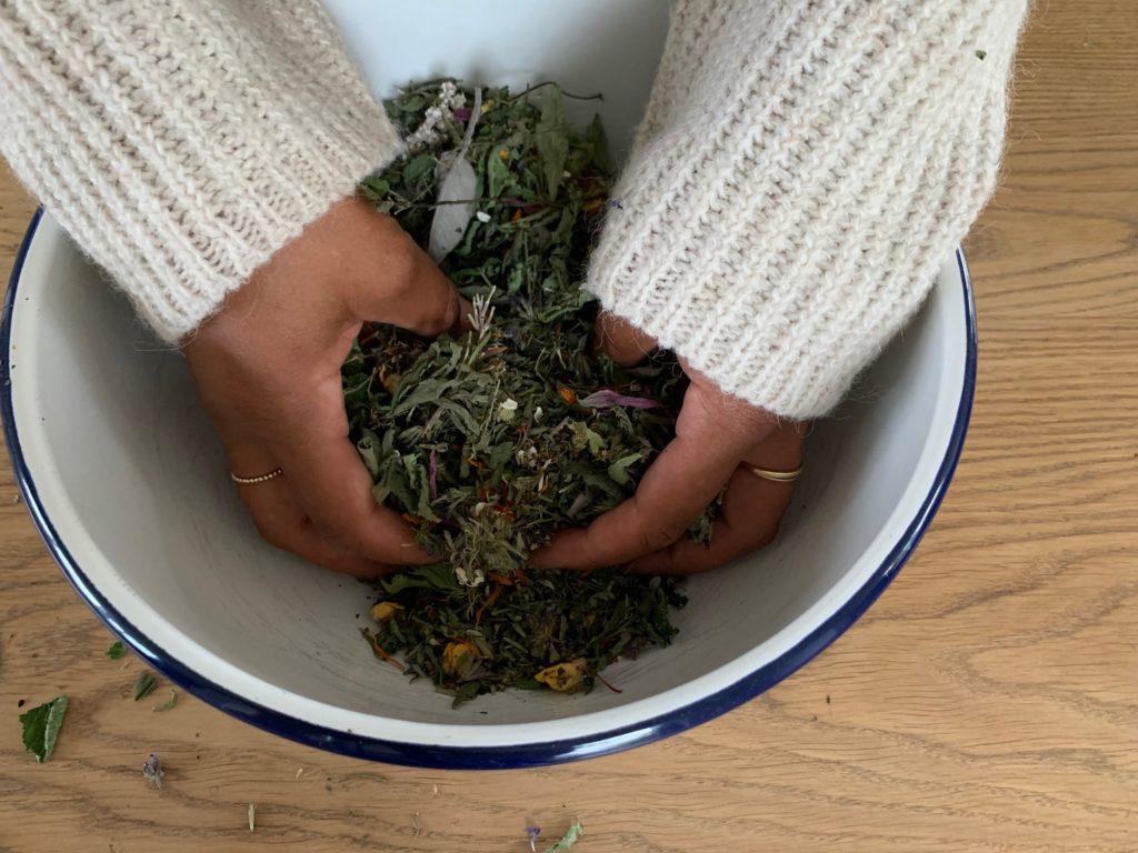 Schlaftee Rezept für Kinder und Erwachsene Beruhigende Kräuter für einen schlafbringenden Tee