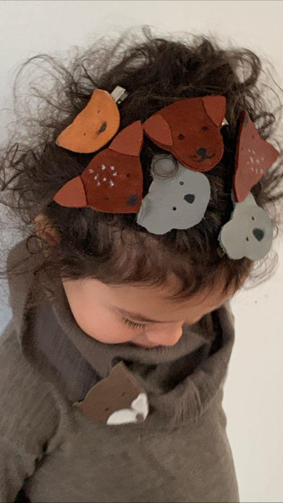 Tier Haarspangen einfach mal schnell selber machen! Kinderleicht und auch schön es gemeinsam mit den Kindern zu basteln.