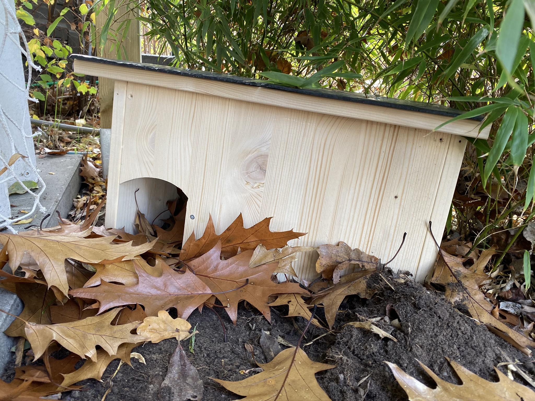 Igelhaus bauen! Mit einfachen Mitteln Igeln beim überwintern helfen,plus Tipps fürs ganze Jahr
