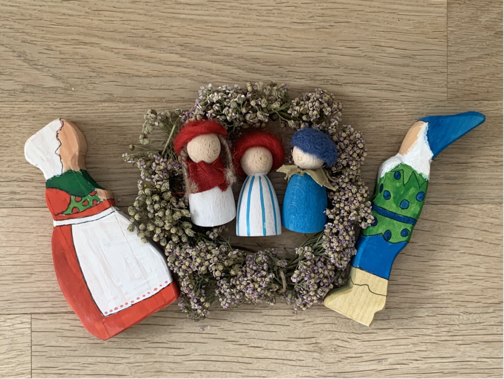 Lasse aus dem Blaubeerenland DIY und ein wunderbar leckeres Rezept für Mandelkuchen findet ihr auf www.elfenkindberlin.de