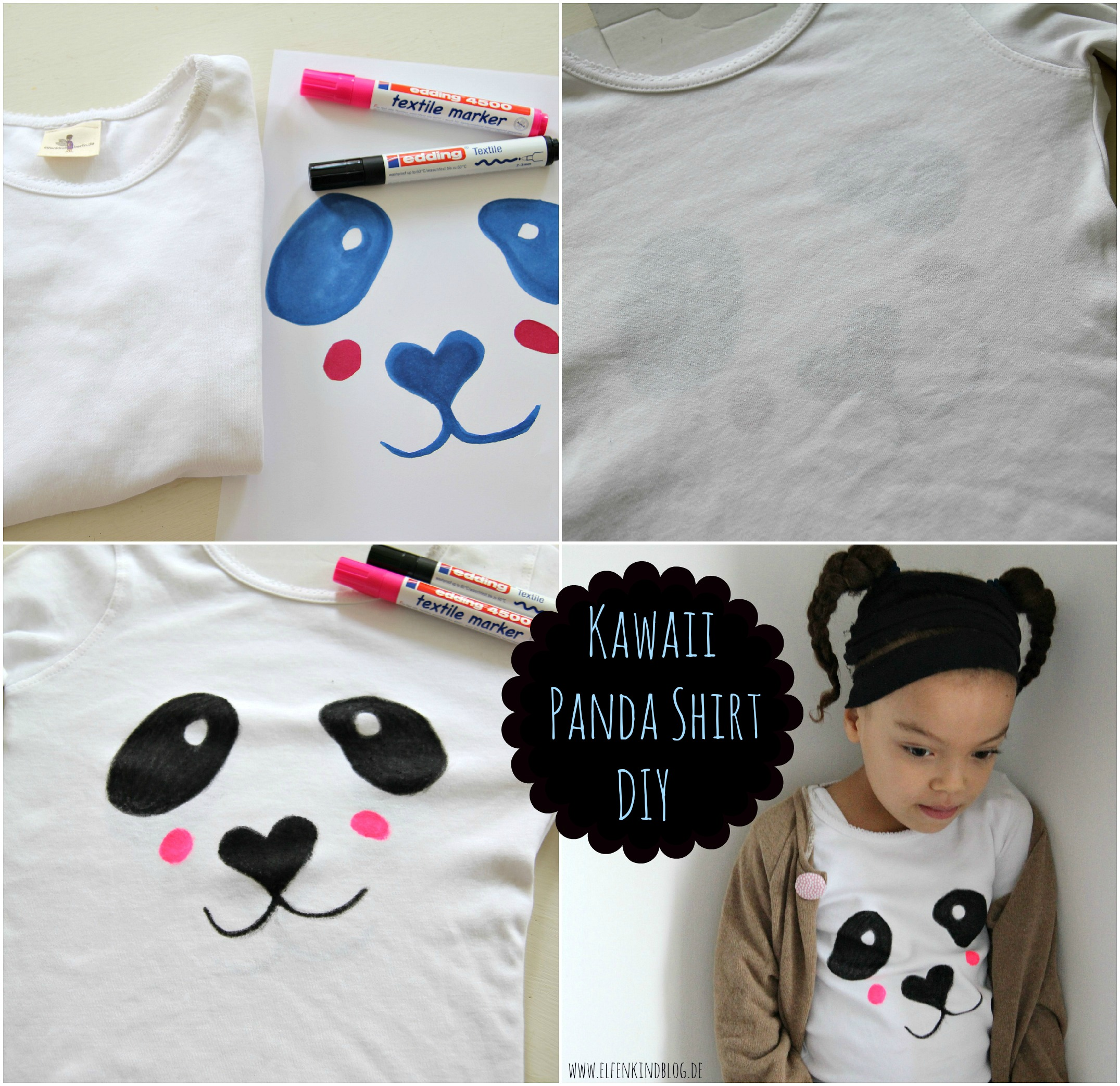 Kawaii Panda Shirt Diy Und Give Away Mamablog Shop By Elfenkind