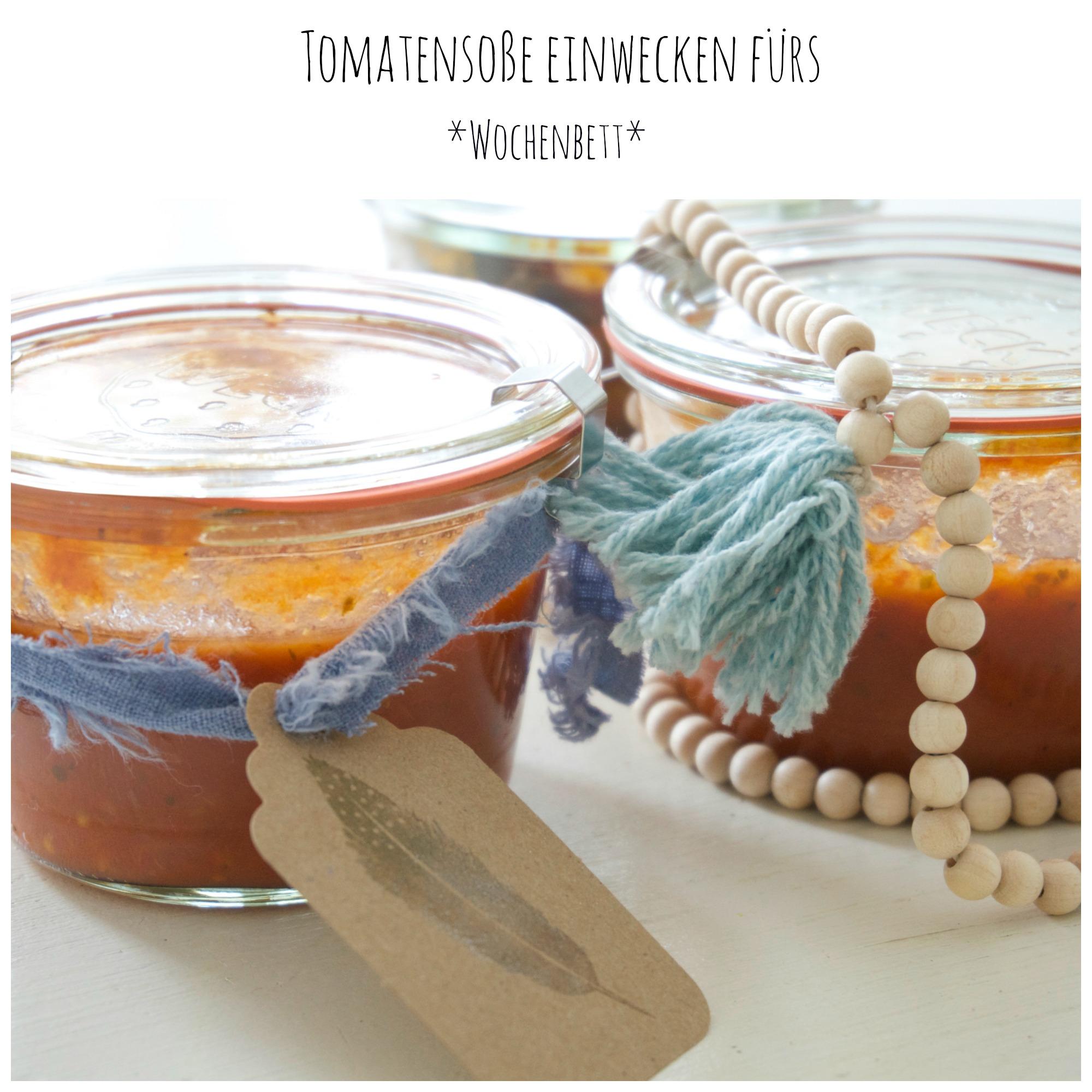 Tomatensoße einwecken