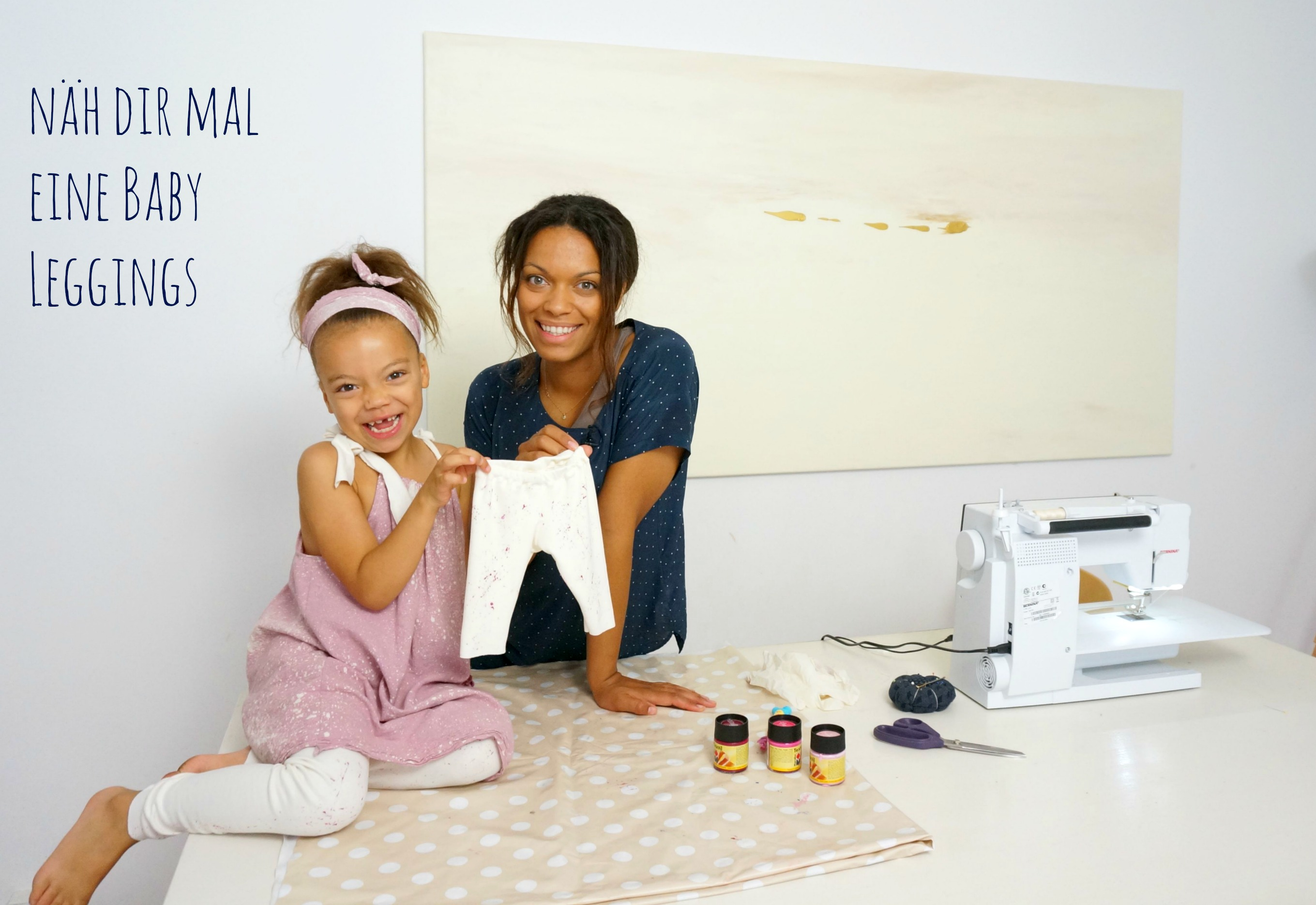 Näh Dir eine Baby Leggings - Mamablog & Shop by Elfenkind