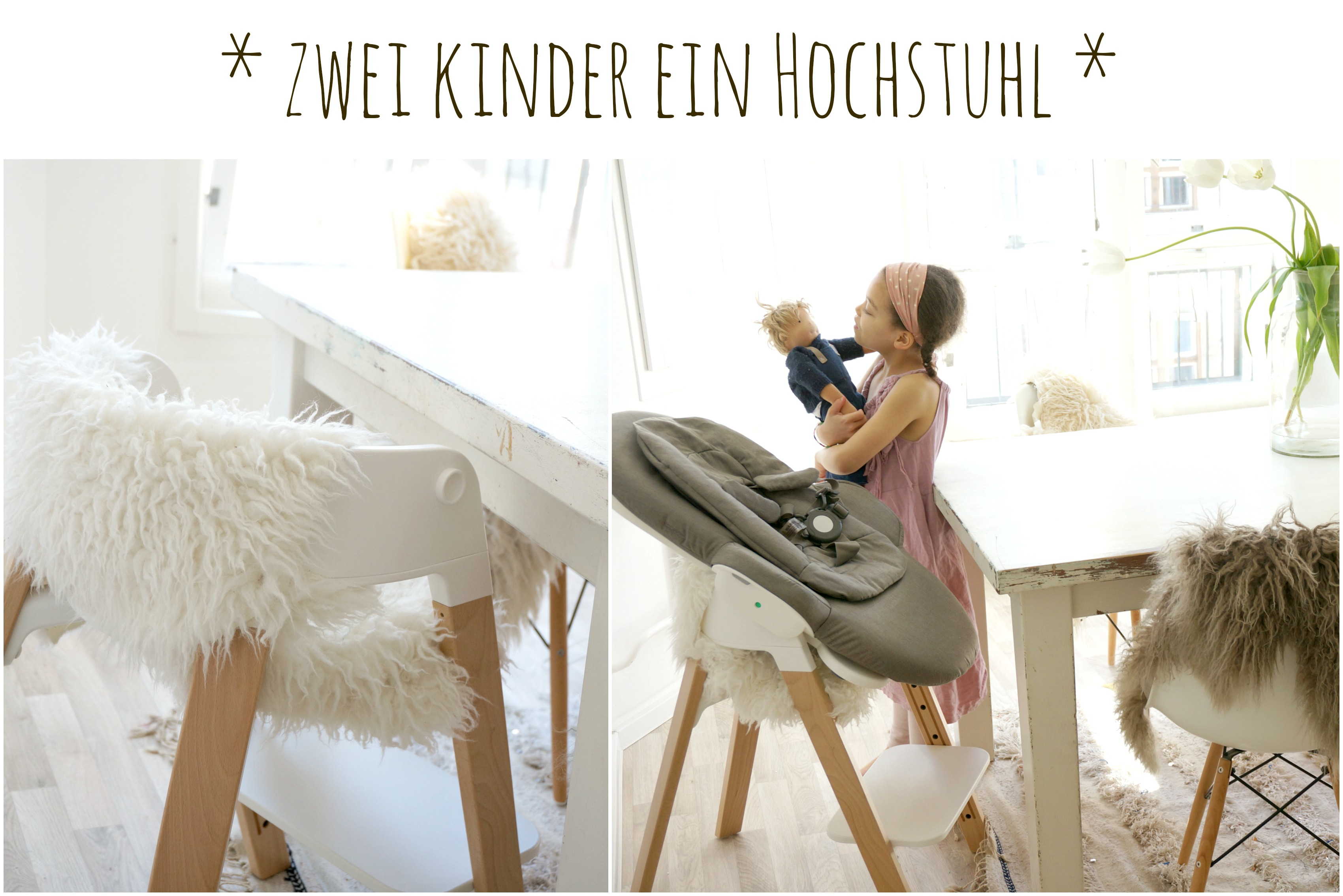 ein stokke steps f r zwei kinder mamablog shop by. Black Bedroom Furniture Sets. Home Design Ideas